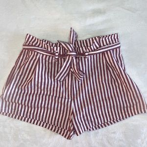 Pants - Stripped Tie Shorts